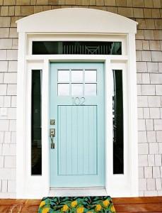 Kaip dažyti duris